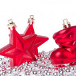 Christmas decoration with tinsel — Stock Photo #7656659