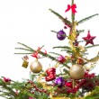 Decorated christmas tree — Stock Photo #7656812
