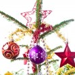 Decorated christmas tree - Photo