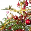 Decorated christmas tree — Stock Photo #7656915