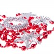 Christmas decoration set - Foto Stock