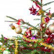 Decorated christmas tree — Stock Photo #7657167