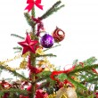 Decorated christmas tree — Stock Photo #7657187