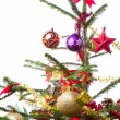 Decorated christmas tree — Stock Photo #7657220