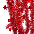 Red tinsel -  