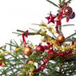 Decorated christmas tree — Stock Photo #7657448