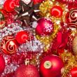 Christmas balls and tinsel — Stock Photo #7657651