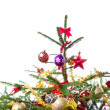 Decorated christmas tree — Stock Photo #7657722