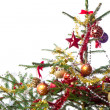 Decorated christmas tree — Stock Photo #7657754