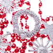 Stock Photo: Christmas decoration set