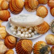 Various seashells — Stock Photo #7827623