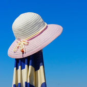 Beach hat — Stock Photo