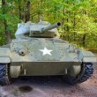 Old WWII tank with US military star on front. — Stock Photo #7912779