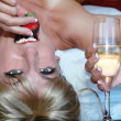 Strawberry and champagne — Stock Photo #6915335