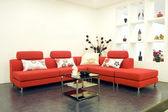 Fabric sofas — Stock Photo