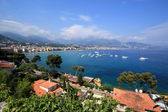 View of Menton, France — Stock Photo