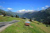 Mont-Blanc landscape by summer — Foto de Stock