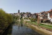Fribourg city, Switzerland — Stock Photo