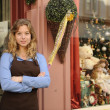 Store owner in front of shop — Stock Photo #7658948
