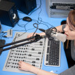 Live broadcasting - Stock Photo