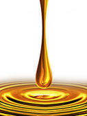 Drop of oil — Stock Photo