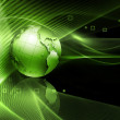 Futuristic technology abstract background — Stock Photo