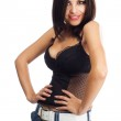 Sexy lady in a corset — Stock Photo #6942653