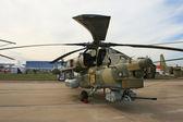 Un helicóptero ruso de combate mi-28 — Foto de Stock