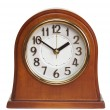 Wooden clock — Stock Photo