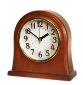 Wooden clock — Stockfoto