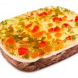Aspic on white — Stock Photo
