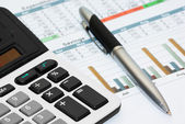 Calculation of house budget — Stock Photo