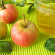 Apple jelly - Stock Photo