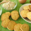 Royalty-Free Stock Photo: Gluten-free cookies from corn flour