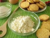 Gluten-free cookies from corn flour — Stock Photo