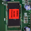 Closeup of electronic circuit board — 图库照片 #7511440