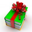 Gift books — Stockfoto