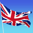 Flag of United Kingdom — Stock Photo #7755798