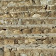 Stair of natural stone - Stock Photo