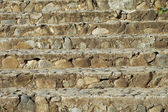 Stair of natural stone — Stock Photo