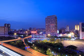Night view of shenzhen ,China — Stock Photo