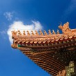 The eaves in the forbidden city — Stock Photo #7271436