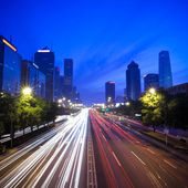 Night scene of chinese beijing — Stock Photo