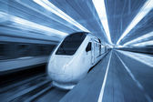 Railway high-speed train — Stock Photo
