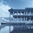 Marble boat — Stock Photo