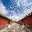 The forbidden city's walls — Stock Photo