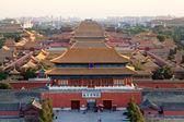 The forbidden city at dusk — Stock Photo