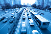 Rush hour traffic — Stock Photo