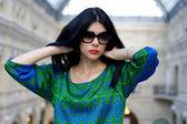 Portret modne piękny model — Zdjęcie stockowe
