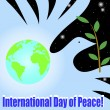 International Day of Peace. — Stock Vector